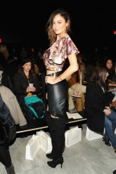 Nicole Trunfio - Zimmermann F/W 2014 Fashion Show in NYC 2/7/14
