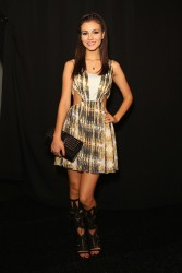 Victoria Justice - Rebecca Minkoff F/W Fashion Show in NYC 2/7/14
