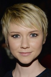 Valorie Curry - Nicole Miller fashion show in NYC 2/7/14