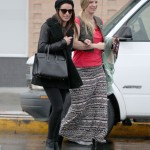 Lea Michele out with Heather Morris - 02/06/2014