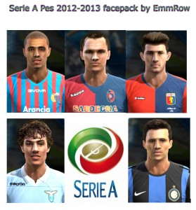 Download Serie A PES 2012-2013 Facepack by EmmRow