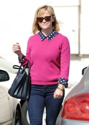 Reese Witherspoon - out in Brentwood 2/8/14
