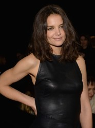 Katie Holmes - Donna Karan New York 30th Anniversary fashion show in NYC 2/10/14