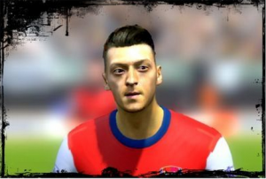 Download Mesut Özil Face [ Texture by Dante ]