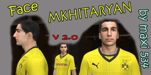 Download Face Mkhitaryan For PES 14 by maxi534