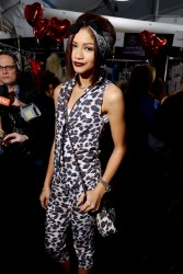 Zendaya Coleman - Betsey Johnson Fashion Show in NYC 2/12/14