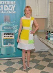 Elizabeth Banks - 2nd Annual Listerine 21-Day Challenge Launch in Inglewood 2/13/14