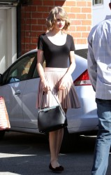 Taylor Swift - leaving the gym in West Hollywood 2/14/14