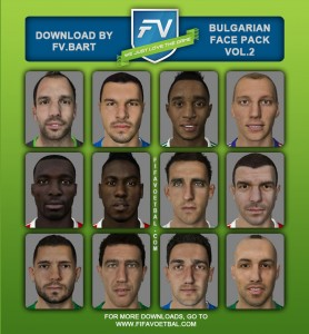 FIFA 14 Bulgarian Facepack vol.2 by Fv.bart