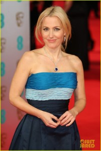 Gillian Anderson - BAFTAs 2014,The Royal Opera House, London 16/02/2014  (HQ adds)
