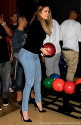Khloe Kardashian - The Robin Hood Project Celebrity Bowling At Pinz Bowling Alley In Studio City 2/15/14
