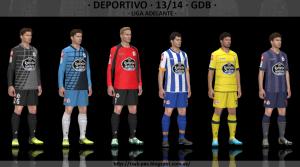 Download Deportivo de La Coruña 2013-2014 GDB Set v2 by Txak