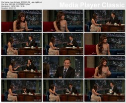 Lea Michele - Late Night with Jimmy Fallon - 5/5/2010
