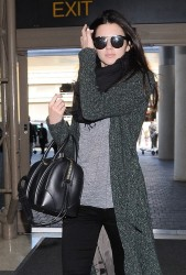 Kendall Jenner - At LAX Airport 2/26/14