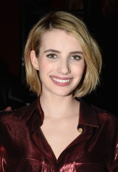 Emma Roberts - Lanvin F/W 2014-2015 Fashion Show in Paris 2/27/14