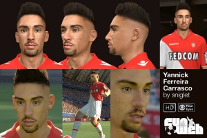 Download Yannick Ferreira Carrasco Face by sniglet