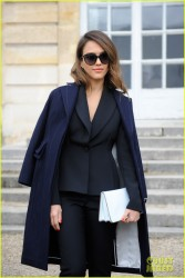 Jessica Alba - Christian Dior F/W 2014-2015 Fashion Show in Paris 2/28/14