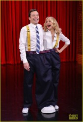 Cameron Diaz - On the 'Tonight Show with Jimmy Fallon' in NYC 2/28/14