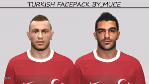Download PES2014 Turkish Faces by MuCé