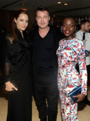 "Angelina Jolie - ""12 Years A Slave"" Dinner Party Hosted by GREY GOOSE 3/1/14"