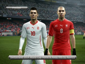 Download Switzerland 2014 World Cup Home and Away Kits