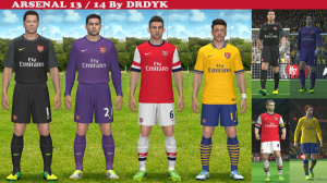 Download PES2014 Arsenal 13-14 by DRDYK