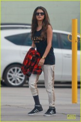 Selena Gomez - Arriving to a dance studio in Burbank 3/3/14