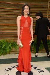 Aubrey Plaza - 2014 Vanity Fair Oscar Party in West Hollywood 3/2/14