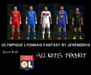 Download Olympique Lyonnais Fantasy Kits by jeremz0310