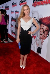 "Leslie Mann - ""Mr. Peabody & Sherman"" Premiere in LA 3/5/14"