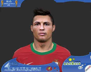 Download C. Ronaldo PES14 Face by Alir110