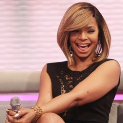 Ashanti - Leggy At BET's 106 & Park (3/3/14)