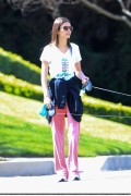 Victoria Justice - Walking her Dogs 3/09/14