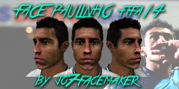 Download Face Paulinho fifa 14 by jo7facemaker