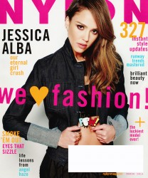 Jessica Alba x6 Nylon (US) March, 2014