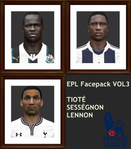 Download PES2014 EPL Facepack vol. 3 by shaggyboss