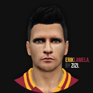 Download Erik Lamela PES 2014 Face by zizi