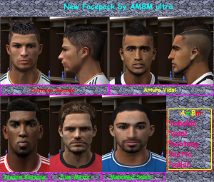 Download PES 2010 Face Pack v6 by ambm ultra