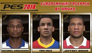 Download PES 2014 European Mini Facepack By Hawke