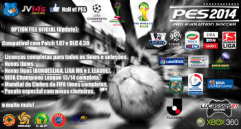 Download PES 2014 Option File Xbox 360 Update 15.03.2014 by Lucassias87
