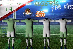 Download Algeria GDB World Cup 2014 Kits by Firas Zinou