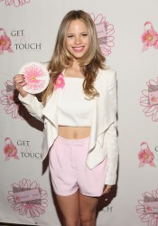 Halston Sage - The Get In Touch Foundation's 2014 Pretty In Pink Luncheon And Women Of Strength Awards in Santa Monica 3/16/14