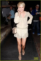 Julianne Hough - Arriving to Ulysses Voyage in LA 3/17/14