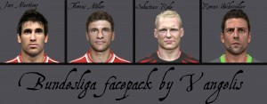 Download PES 2014 Bundesliga facepack by Vangelis