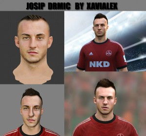 Download FIFA 14 Josip Drmic Face By Xavialex