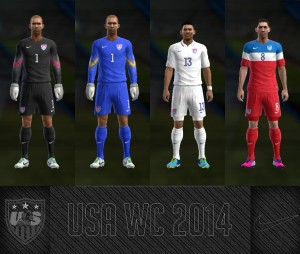 Download PES 2013 USA WC2014 GDB Kits by AkmalRW