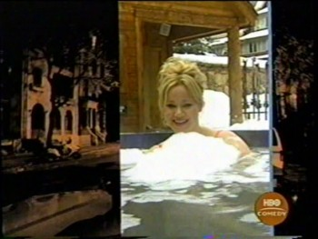 CAROLINE RHEA hot tub - hbo comedy teaser (vhs)