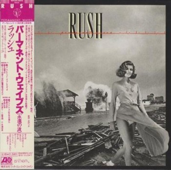 Rush Permanent Waves Japan Edition 2009
