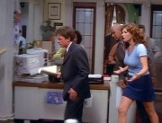 "Paula Marshall and Connie Britton on ""Spin City"""