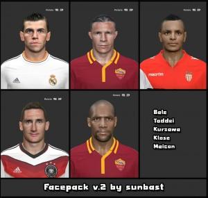 Download PES 2014 Facepack vol. 2 by sunbast